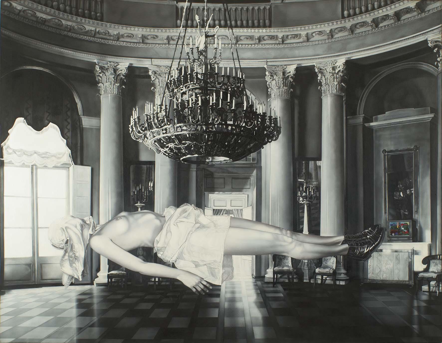 """<p style=""""text-align: center;"""">T.M.T.H.'s Madonna – 1993 – 140x180cm – acrylik on canvas</p>"""