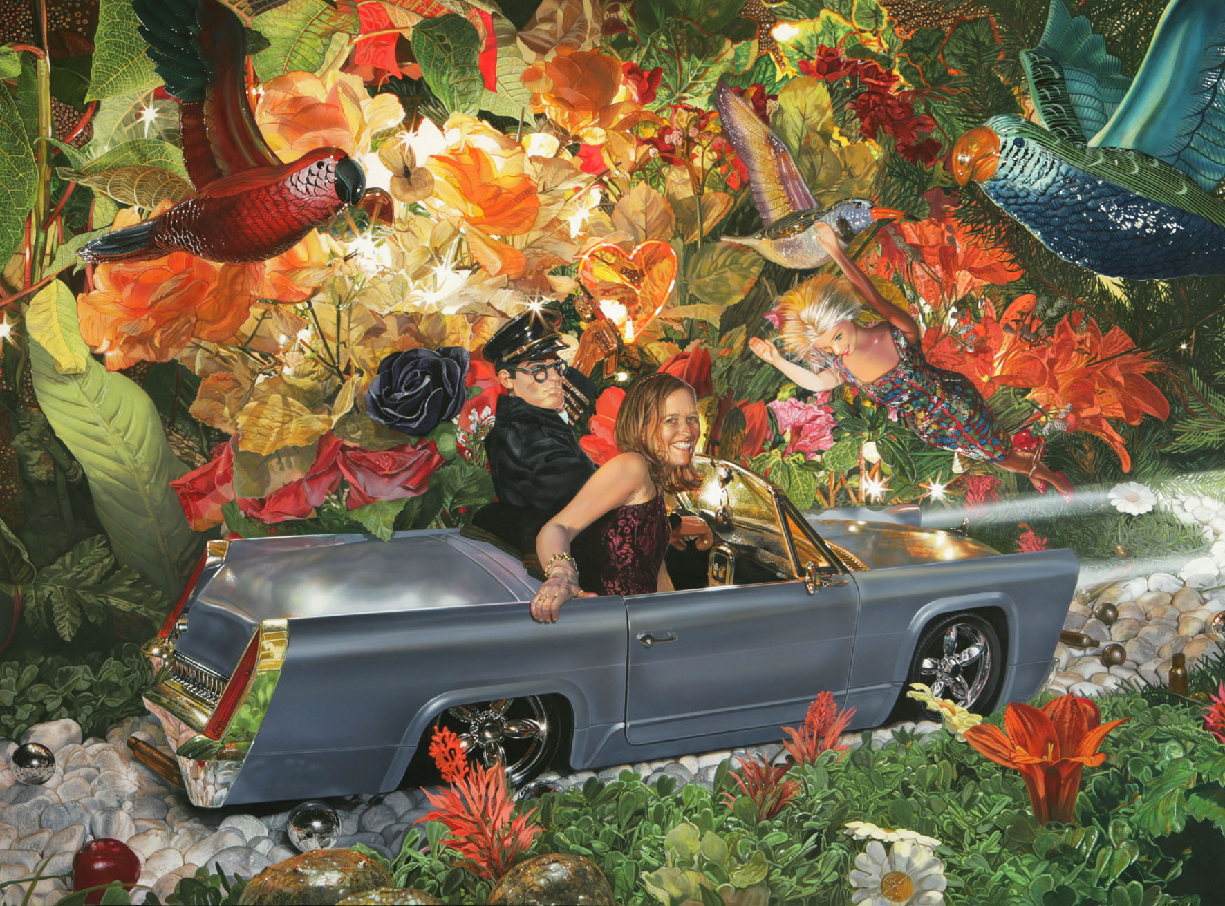 "<p style=""text-align: center;"">Accident – 2005 – 150x200cm – acrylik on canvas</p>"